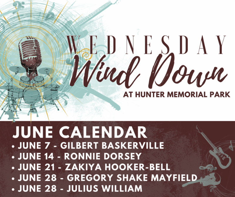 Wednesday WindDown - At Hunter Memorial Park