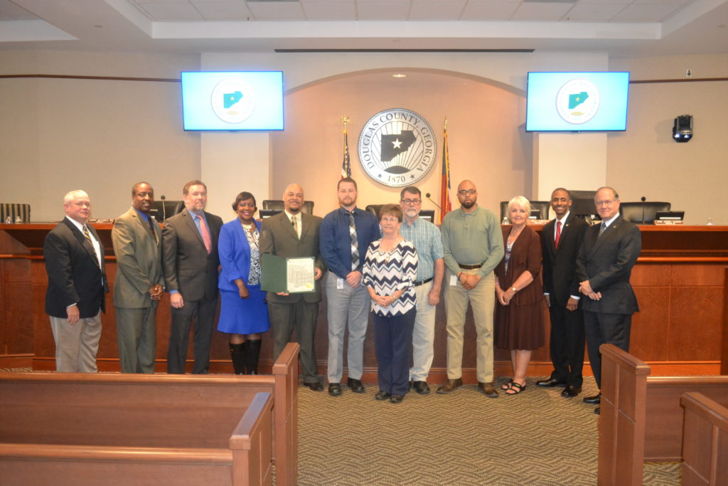 Cyber Security Awareness Month in Douglas County