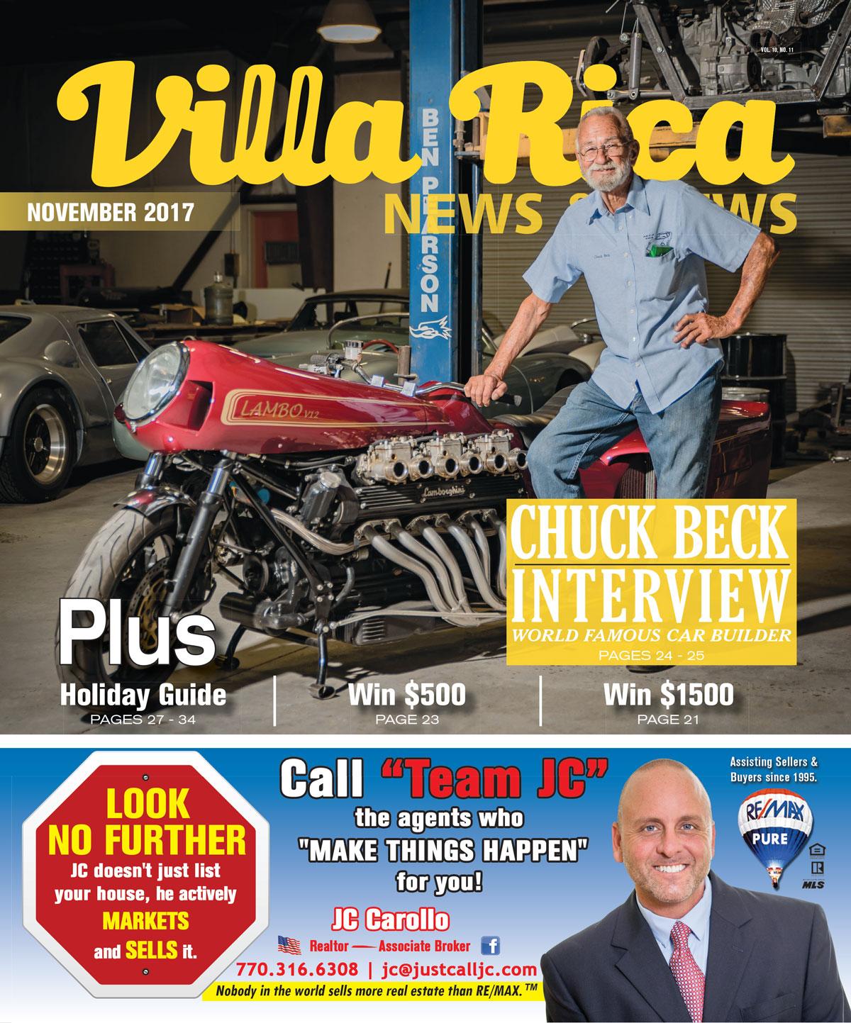 November 2017 issue of Villa Rica News & Views