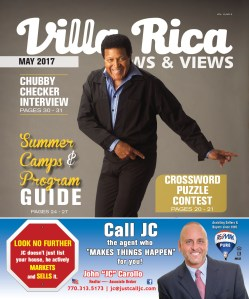 Villa Rica News & Views Chubby Checker cover