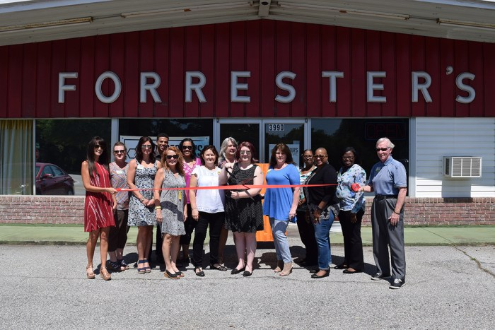 Forrester's Creative Celebrates Grand Opening