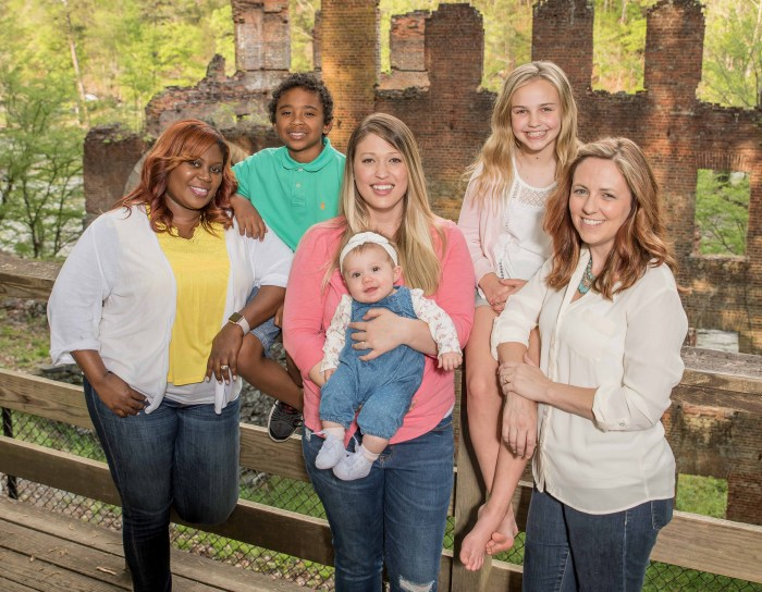 Moms of the Chapel Hill News & Views Creative Design Team