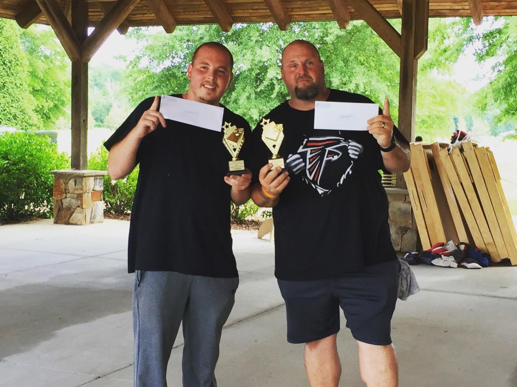 Cornhole Tournament Winners