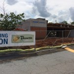 Douglasville Panera Bread construction on July 5, 2017