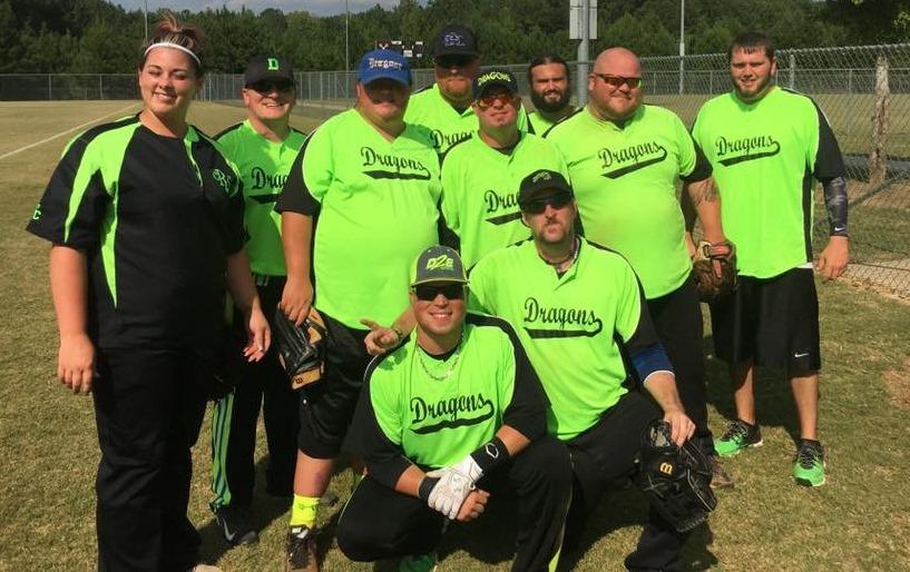 Douglas County Special Olympics Unified Softball Team