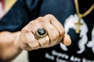 WWE Ring Robert Gibson of Rock-N-Roll Express