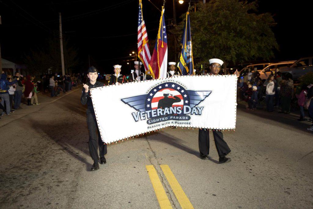 Douglas County Veterans Day Lighted Parade