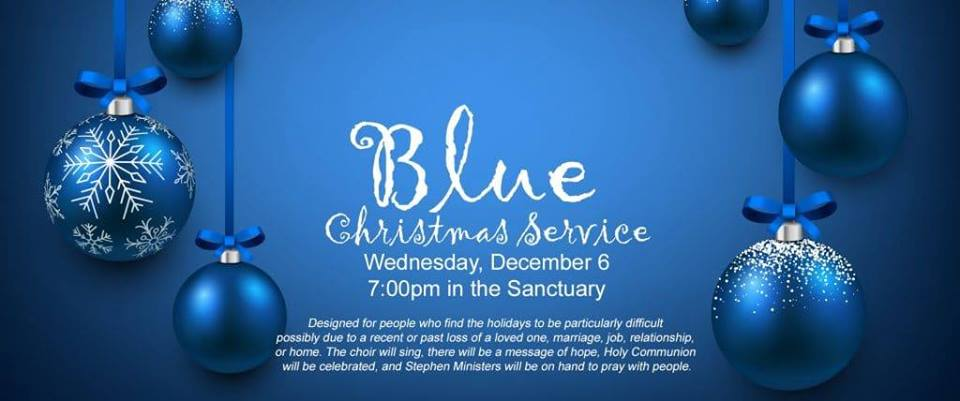 blue christmas a service of hope and healing - Blue Christmas Service