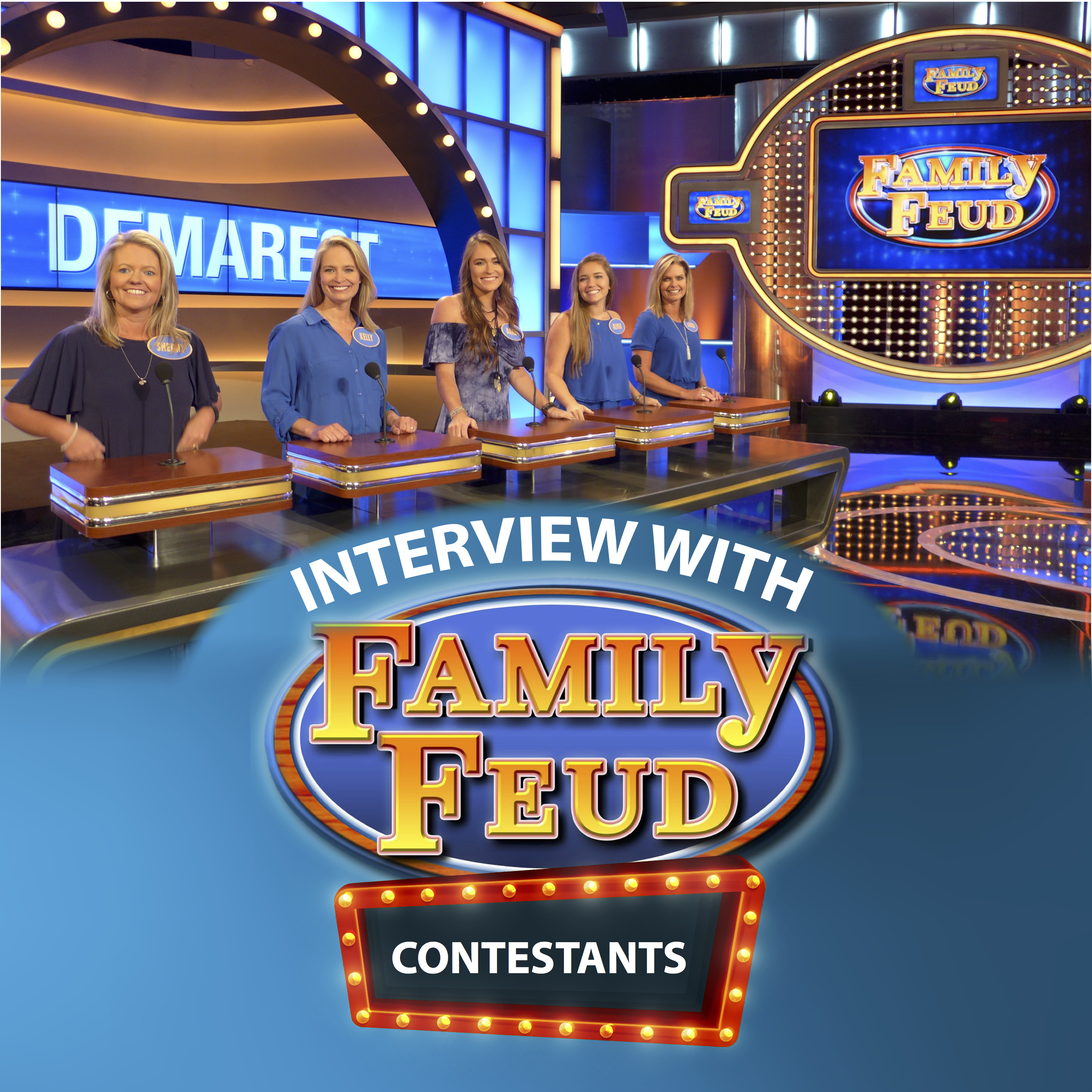 interview with family feud contestants news views