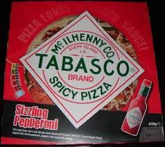 Tabasco pizza