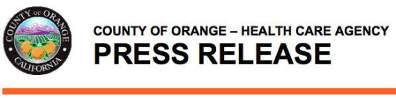 OC Health Press Release
