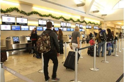 Travelers are encouraged to plan ahead during the busy holiday travel season.
