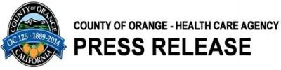 OC Health Care Agency Press Release