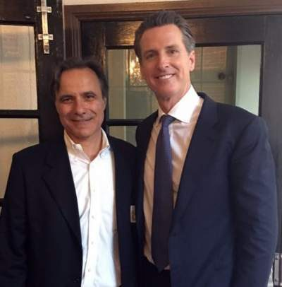 Bruce Bauer and California's gun-grabbing Lt. Gov. Gavin Newsom