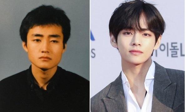 Bts V Like Father Like Son The Korea News Plus