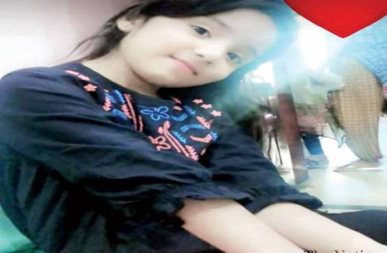 Stray string slits throat of six-year-old