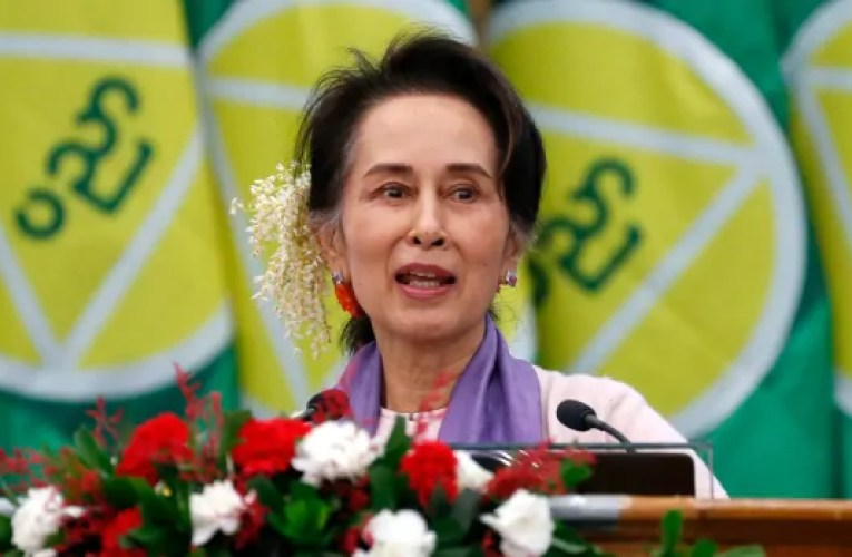Myanmar chief Aung San Suu Kyi 'taken' in early-morning raid, ruling occasion says | CBC News