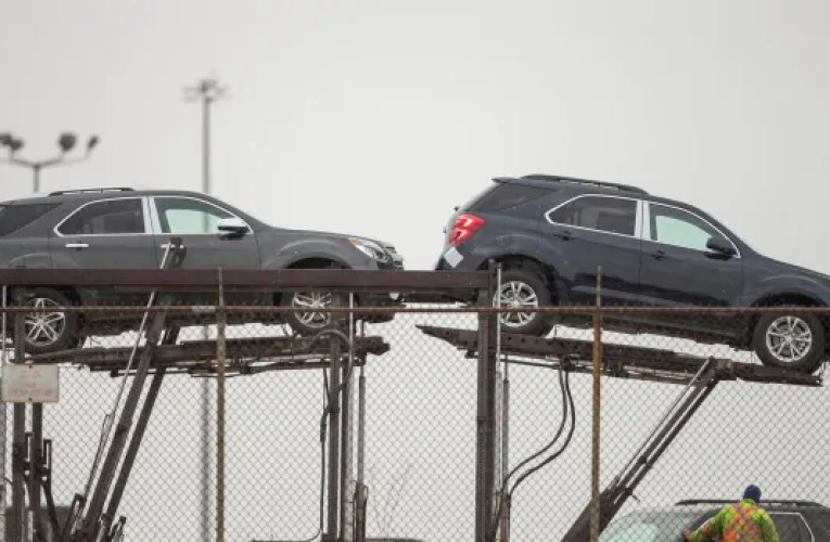 GM now parking unfinished cars until it can secure enough semiconductors to complete them   CBC News