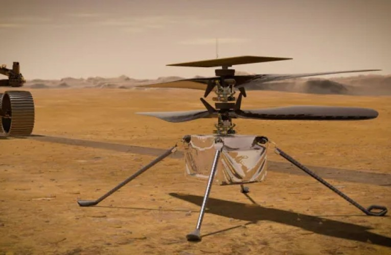 Listen to the Ingenuity helicopter humming through the Martian air | CBC News