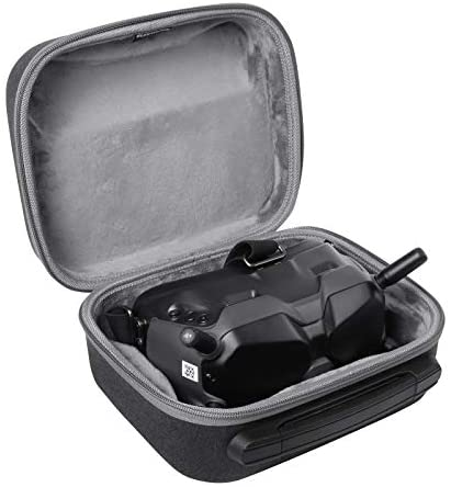 AIWOKE Portable Hard Shell Carrying Case Compatible with DJI FPV Goggles V2 Drone Storage Bag Travel Protection Accessories