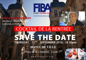 COCKTAIL DE LA RENTREE- FIBA LYON