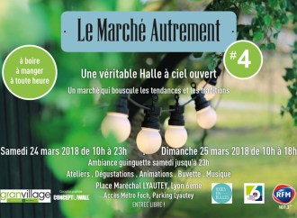 Lyon/ Le Marché Autrement, 24 et 25 mars à la place Maréchal Lyautey