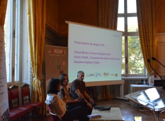 Happy fle, une application made in Lyon, pour apprendre le français, conçue pour les refugiés en France