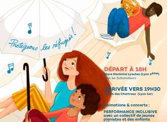 #Lyon – Offrez un parapluie à un réfugié lors de la journée mondiale du réfugié