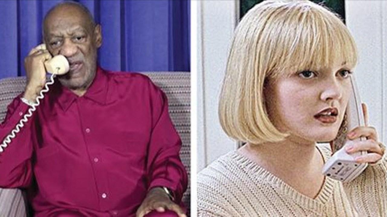 Bill Cosby Calls Drew Barrymore in 'Scream' Phone Call