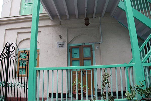 A Portugese style house in Khotachiwadi