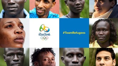 Photo of Symbol of Hope; The Refugee Olympic Team