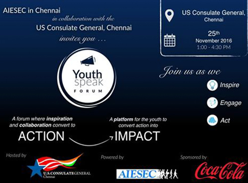 Source: AIESEC Chennai