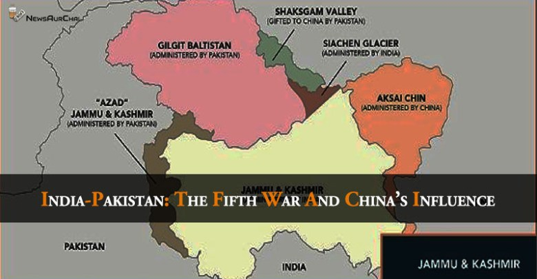India- Pakistan: The Fifth War and China's Influence