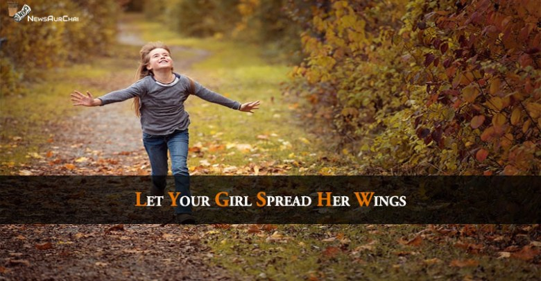 Let your girl spread her wings