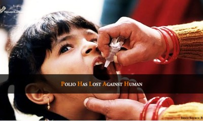 Polio Has Lost Against Human