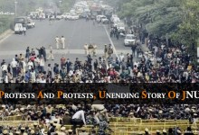 Photo of Protests And Protests, Unending Story Of JNU