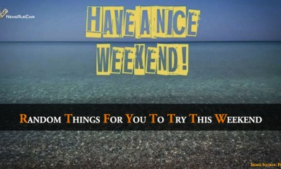 Random Things For You To Try This Weekend