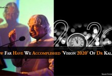 Photo of How Far Have We Accomplished 'Vision 2020' Of Dr Abdul Kalam?
