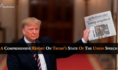 A Comprehensive Report On Trump's State Of The Union Speech