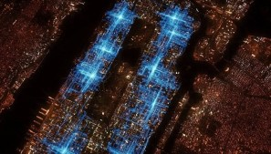 The New York pizza delivery path of one Domino's employee on a Friday night