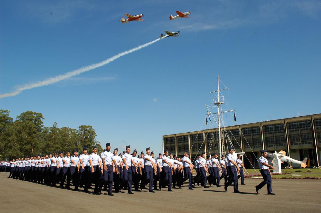 938617aa61 Academia da Força Aérea Brasileira abriu inscrições para 80 vagas em cursos  superiores