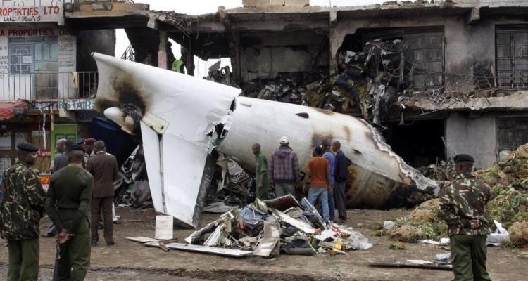 fokker 50 Carga desastre Nairobi 2