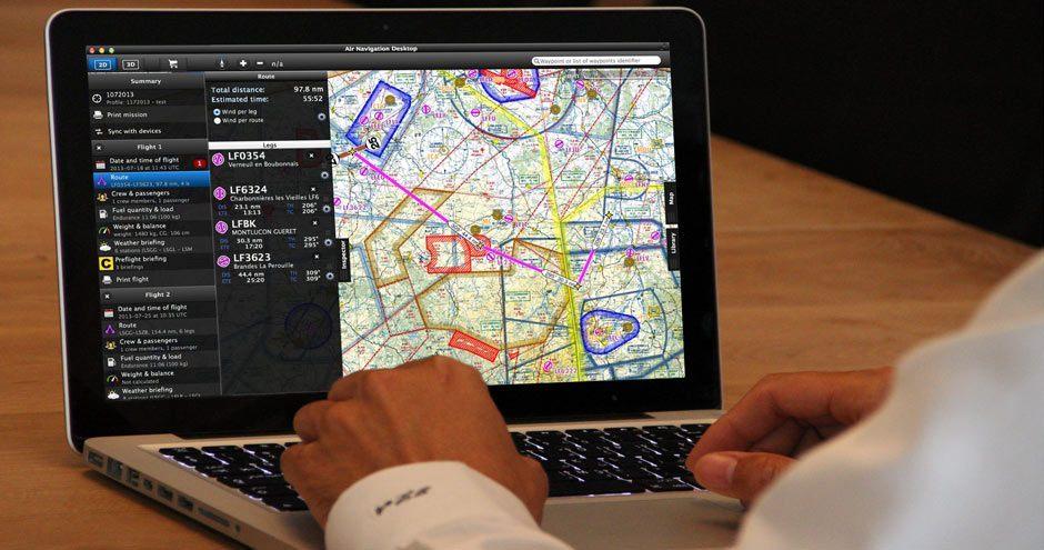 AIr Navigation versão Desktop