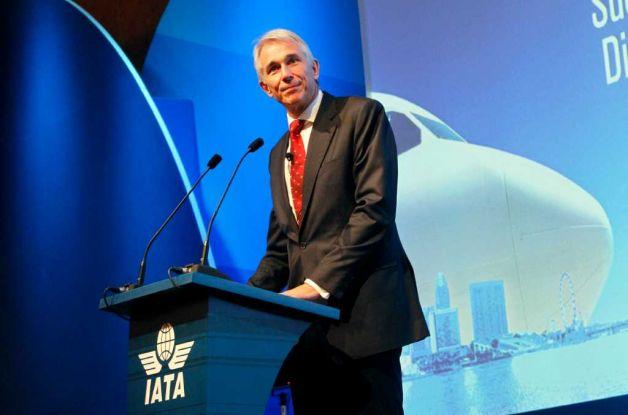 Tony Tyler Presidente da IATA