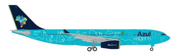 Azul A330-200 Azul Viagens draft PR-AIT 900px