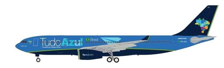 Azul A330-200 Tudo Azul draft PR-AIU