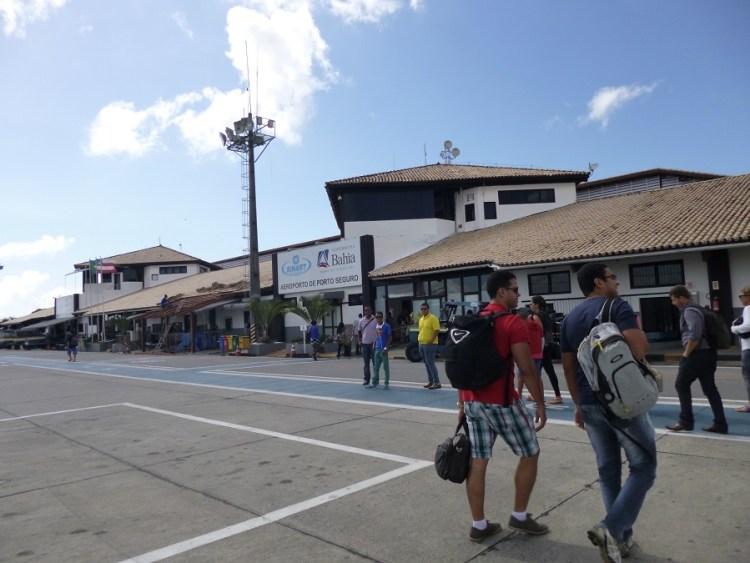 Aeroporto de Porto Seguro, no Estado da Bahia.