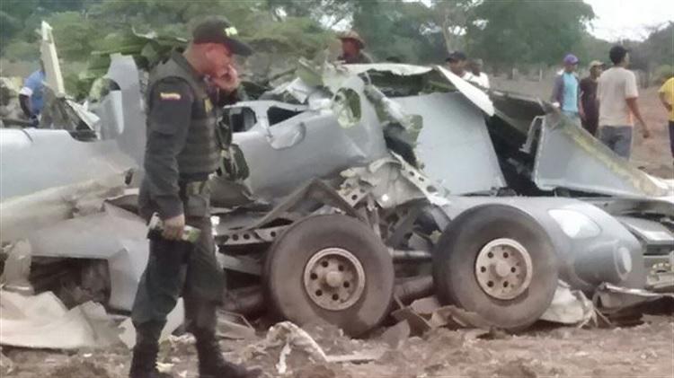FA Colombia CASA295 acidente_31jul2015 Colprensa 750px
