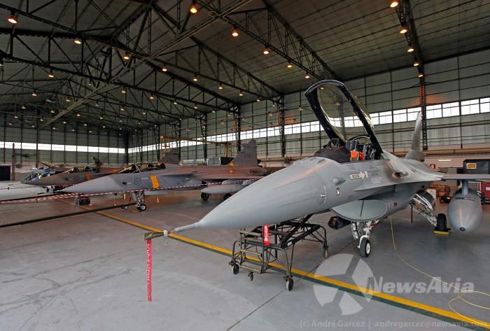 Para o exercício, foi montado um centro de manutenção comum de forma a promover a inter-operacionalidade das forças