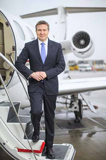 NetJets Europe flies first Phenom Jet 300 into London City Airport. NetJets Europe cuts journey times to the City by becoming the first private jet firm to fly the Phenom 300 into the heart of London's financial district.